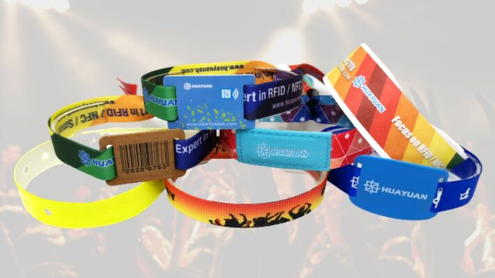 Event Entry Wristband - Fabric, Tyvek, Vinyl & Plastic Wristbands