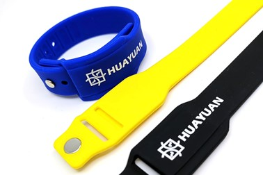 Colorful option and customer logo printing wearable payment Wristband