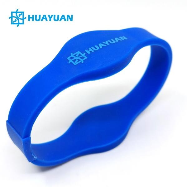 HUAYUAN Combi Wristbands Silicone RFID Hybrid Bracelets