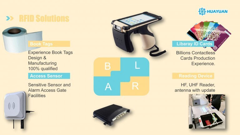 RFID Library Book Management RFID Products