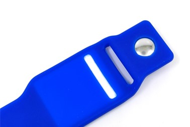 Silicone Wristand for e-Payment with Insert EMV card inside