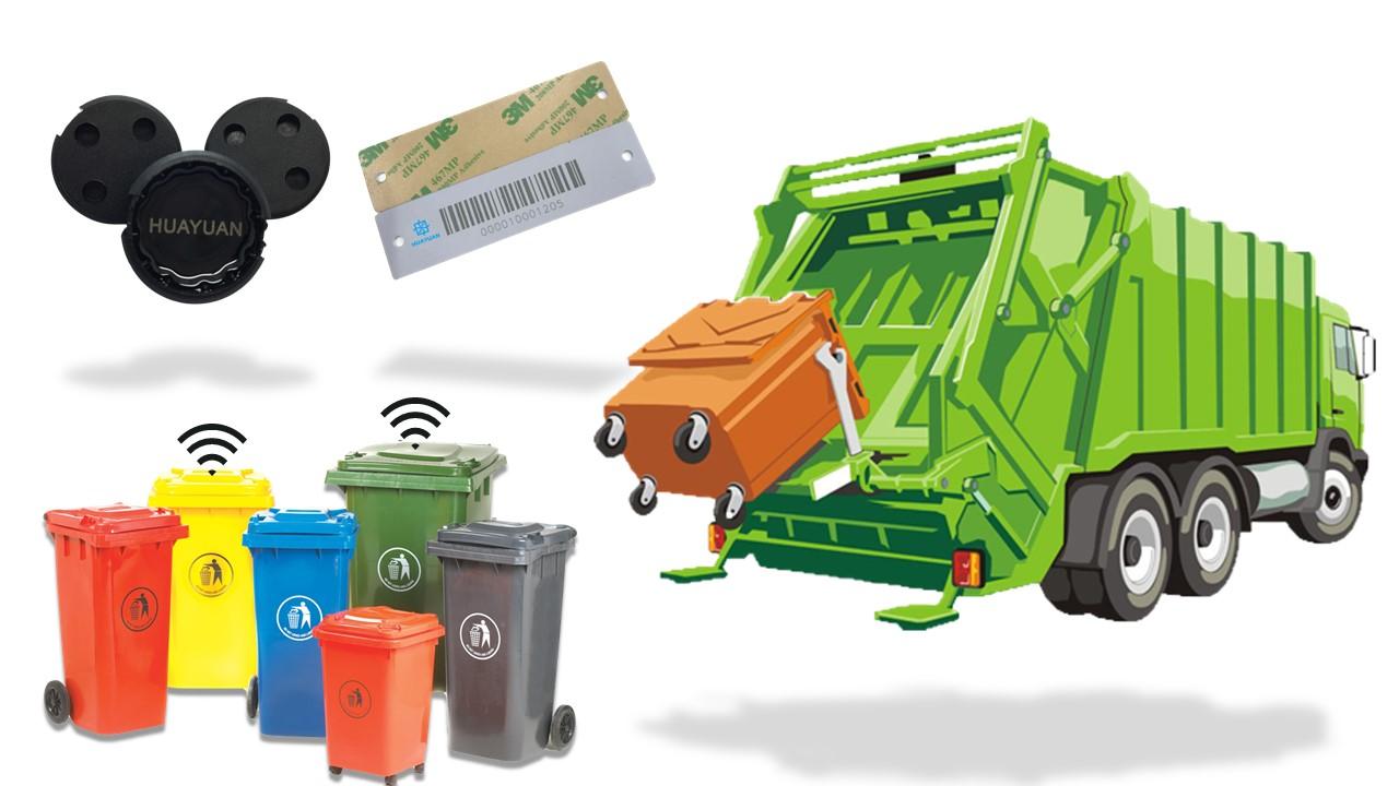 Smart Bin Tag for RFID Waste Management