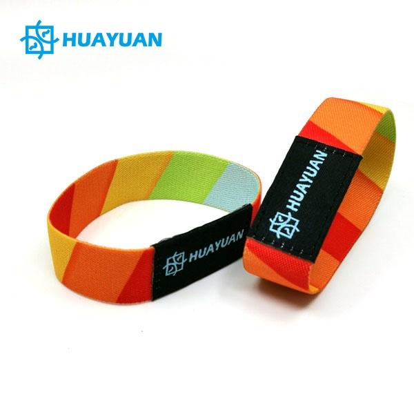 Huayuan Soft RFID Elastic Wristband Bracelets