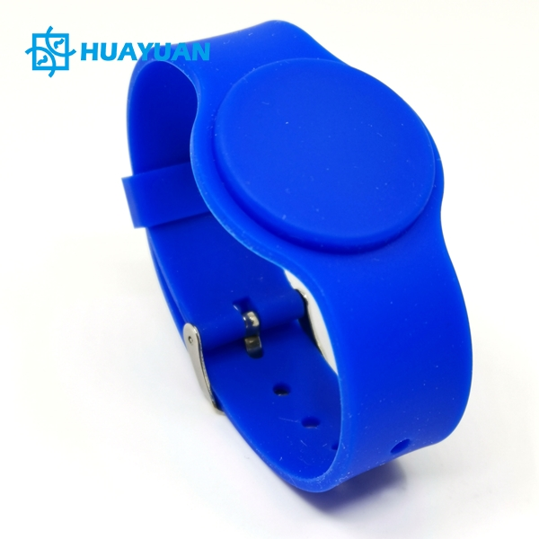 Adjustable Silicone RFID Chip Wristband