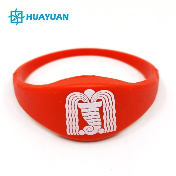 Fitness Center Gym Silicone RFID Wristband Tag